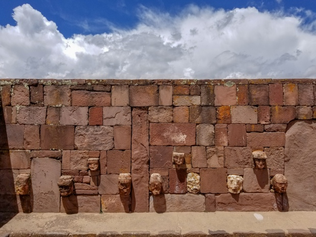 Tiwanaku ruins outside of La Paz